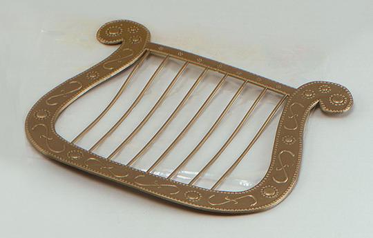 Angel Harp, Gold+B258 Thumbnail 1
