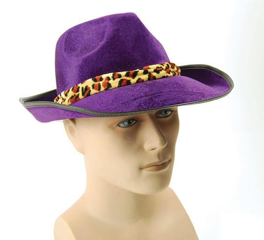 Velvet Purple Fedora Thumbnail 1