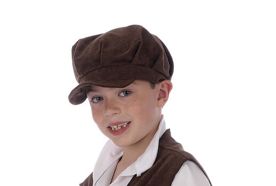 Childs Urchin Hat Brown Thumbnail 1