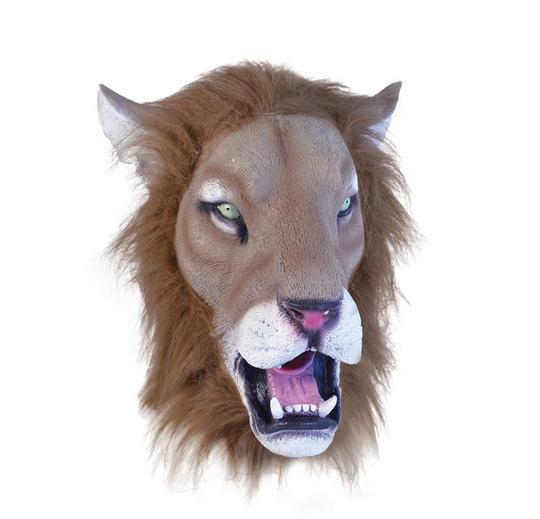 Lion Mask Realistic Thumbnail 1