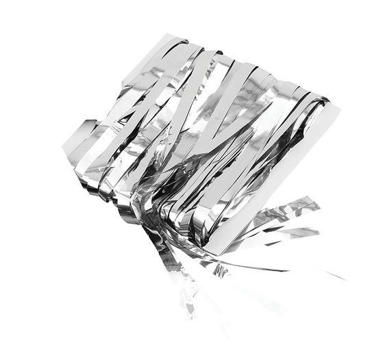 Tinsel Curtain Silver Thumbnail 1