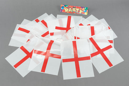 Bunting. St.George 7m, 25 Flags Thumbnail 1