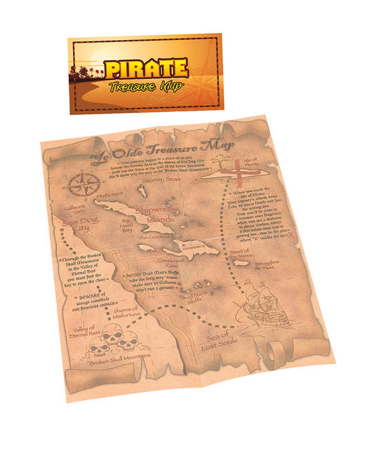 Pirate Treasure Map Thumbnail 1