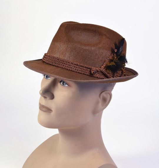 Oktoberfest Hat. Brown Thumbnail 1