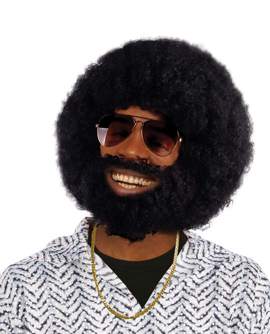 Afro + Facial Hair Thumbnail 1