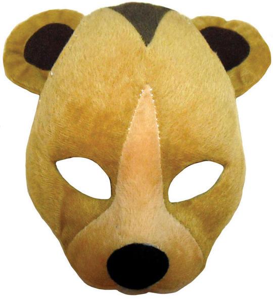 Bear Mask On Headband + Sound Thumbnail 1