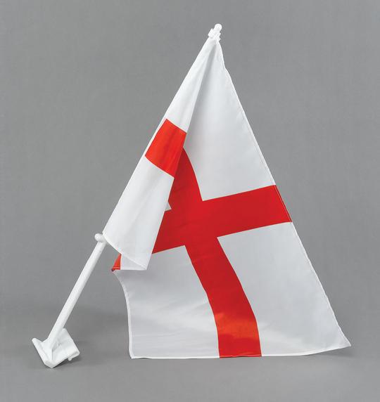 St George Car Flag 30x45cm Thumbnail 1