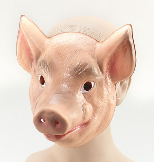 Plastic Animal. Pig Thumbnail 1