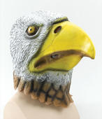 Eagle Bird Mask. Rubber Overhead