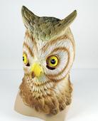 Owl Rubber Overhead Mask