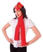 Air Hostess Kit (Hat + Scarf)