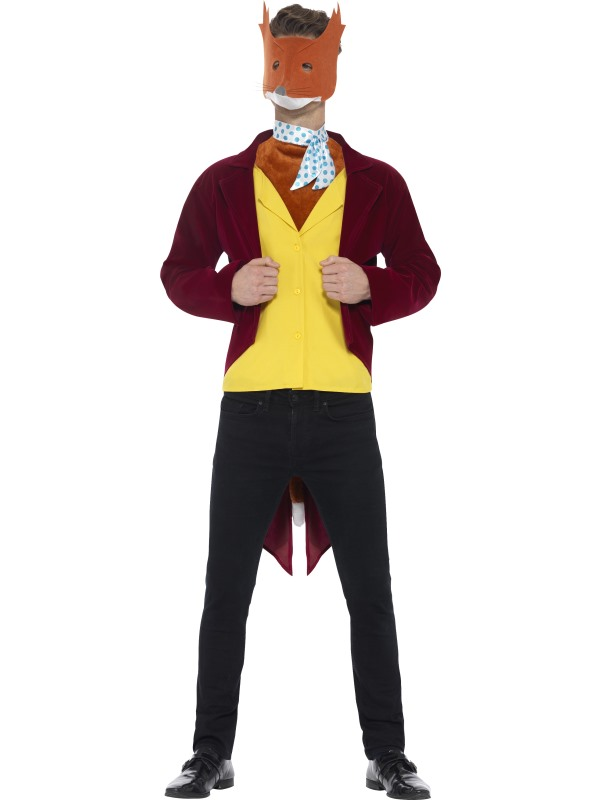 Men's Roald Dahl Fantastic Mr Fox Costume
