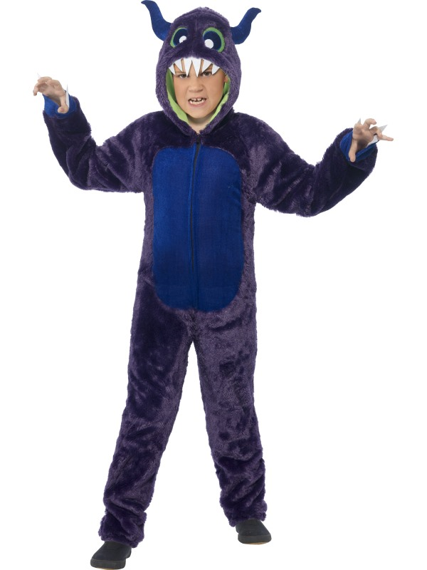 Boys Halloween Monster Costume Kids Horror Fancy Dress Outfit