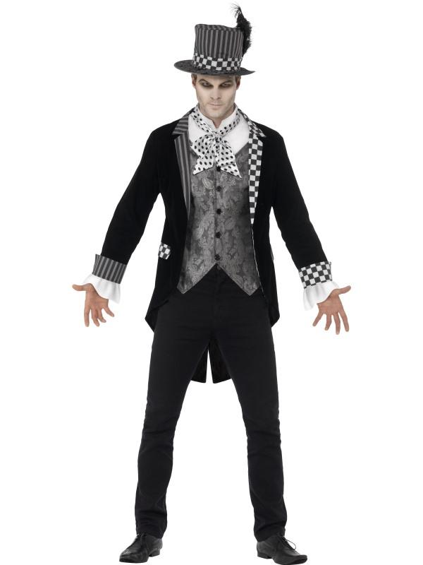 Men's Deluxe Dark Hatter Costume