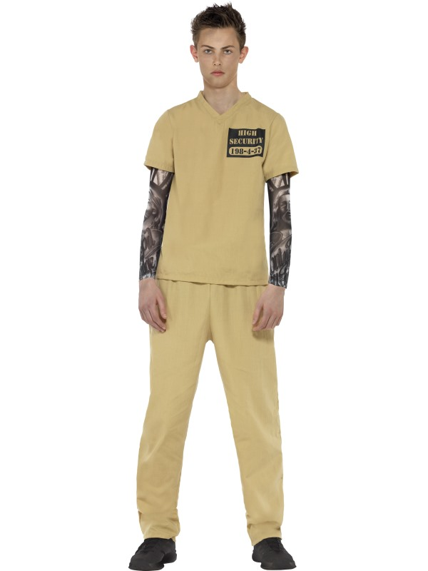 Teen Convict Fancy Dress Costume