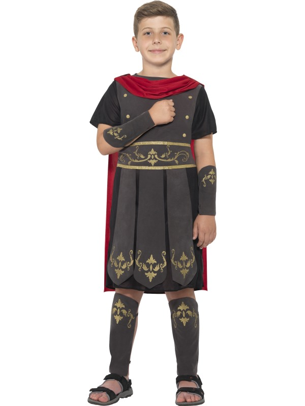 Boy's Roman Soldier Fancy Dress Costume