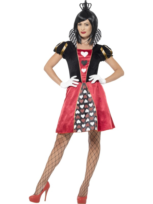 Carded Queen Fancy Dress Costume