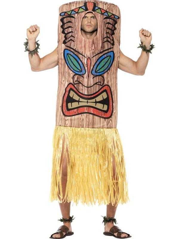 Tiki Totem Fancy Dress Costume
