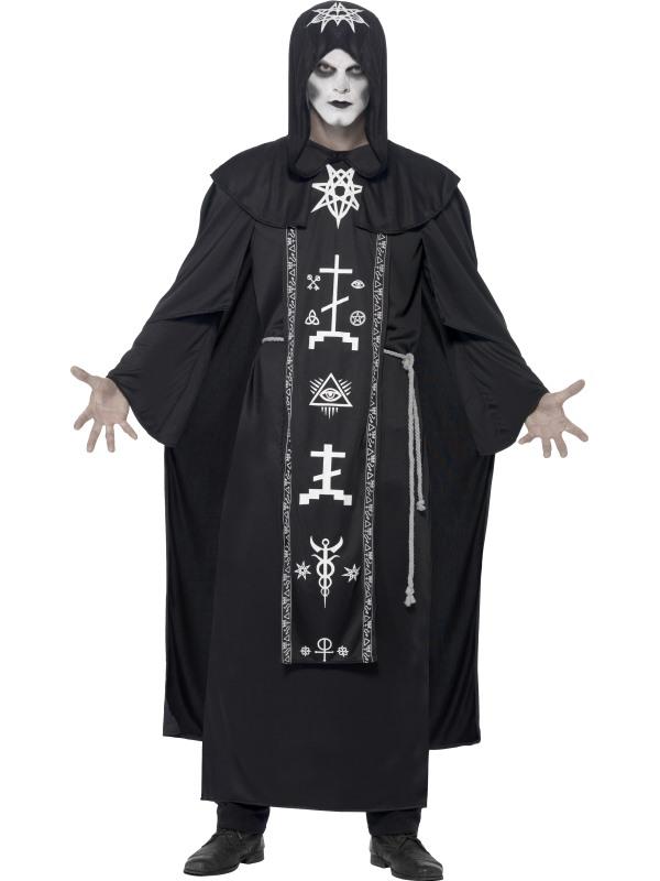 Men's Dark Arts Ritual Fancy Dress Costume