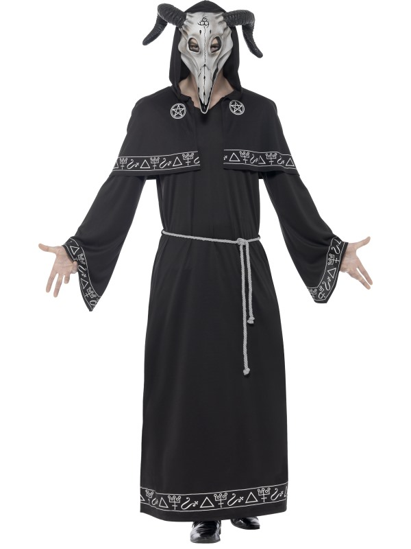 Men's Cult Leader Fancy Dress  Costume