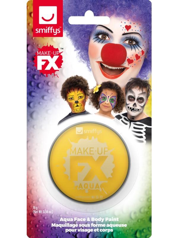 Smiffys Make-Up FX Yellow
