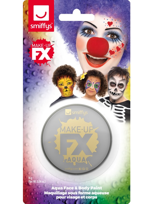 Smiffys Make-Up FX Light Grey