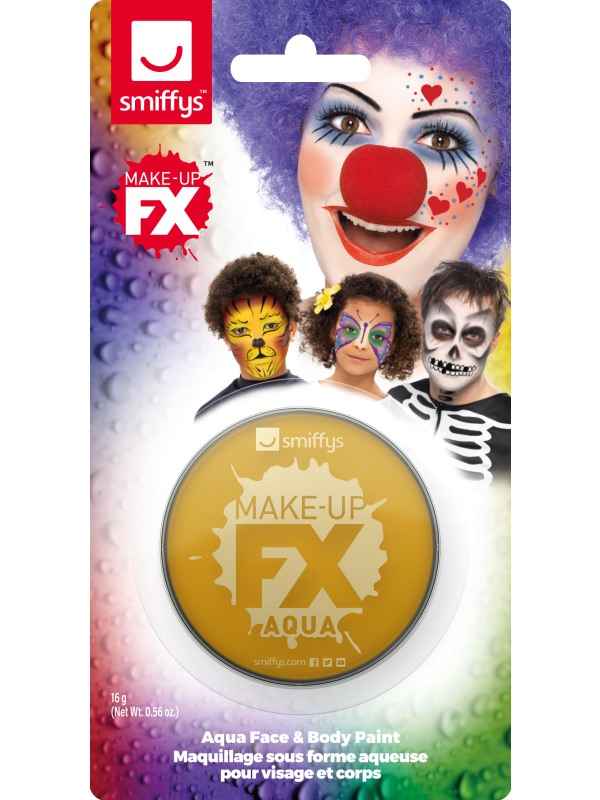 Smiffys Make-Up FX Gold