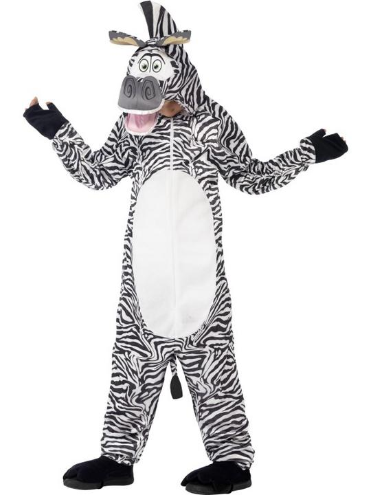 Madagascar Marty The Zebra Costume Thumbnail 1