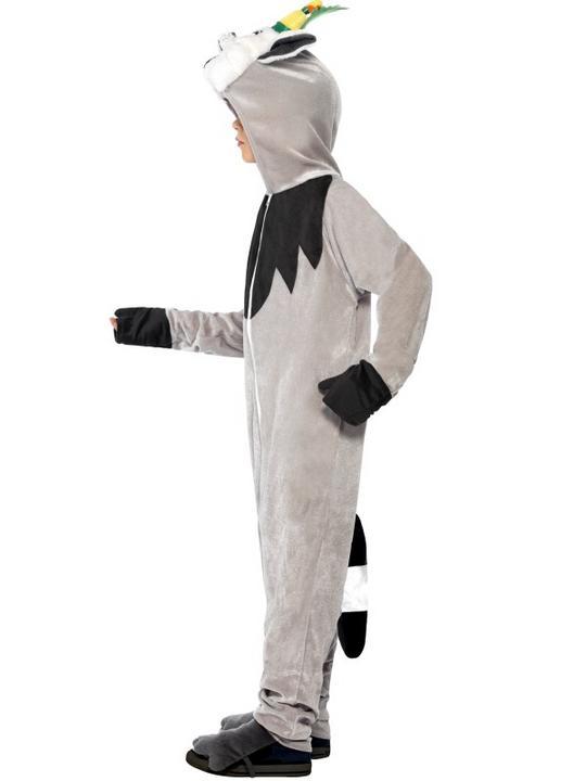 Madagascar King Julien The Lemur Costume Thumbnail 2