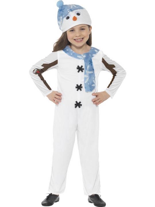 Snowman Toddler Costume Thumbnail 1
