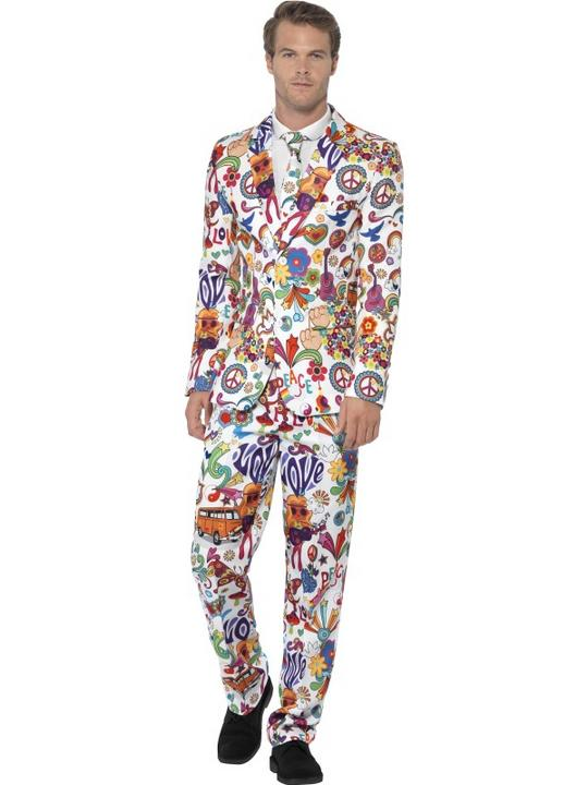 Groovy Suit Fancy Dress Costume Thumbnail 1