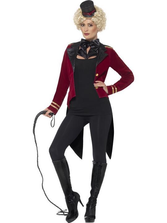 Women's Ringmaster Fancy Dress Costume Thumbnail 1