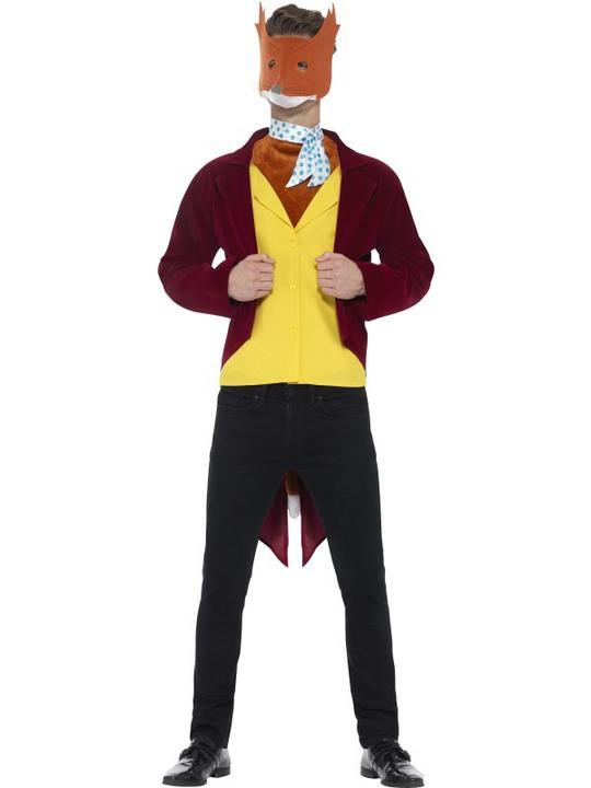 Men's Roald Dahl Fantastic Mr Fox Costume Thumbnail 1