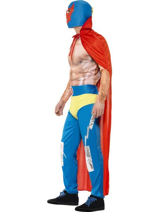 Mexican Wrestler Costume Thumbnail 2
