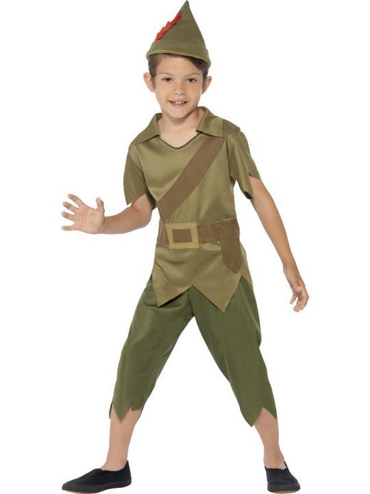 SALE! Child Medieval Robin Hood Boys Book Week Fancy Dress Kids Party Costume Thumbnail 1