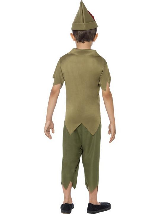 SALE! Child Medieval Robin Hood Boys Book Week Fancy Dress Kids Party Costume Thumbnail 3