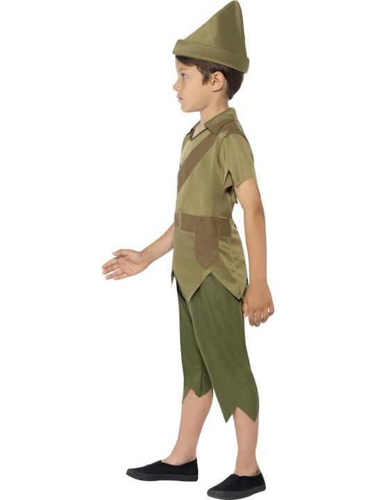 SALE! Child Medieval Robin Hood Boys Book Week Fancy Dress Kids Party Costume Thumbnail 2