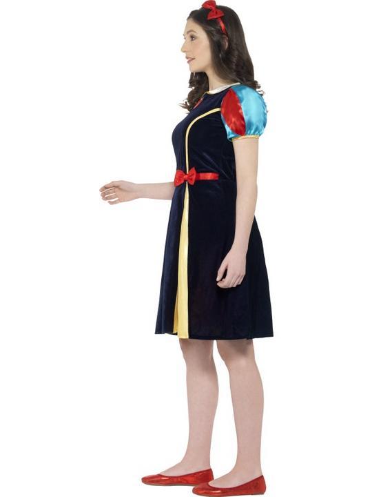Girls Teen Book Week Fairest of Them All Costume Kids Fancy Dress Outfit Thumbnail 2