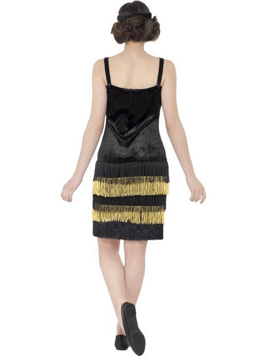 Teen Flapper Girl Fancy Dress Costume Thumbnail 3