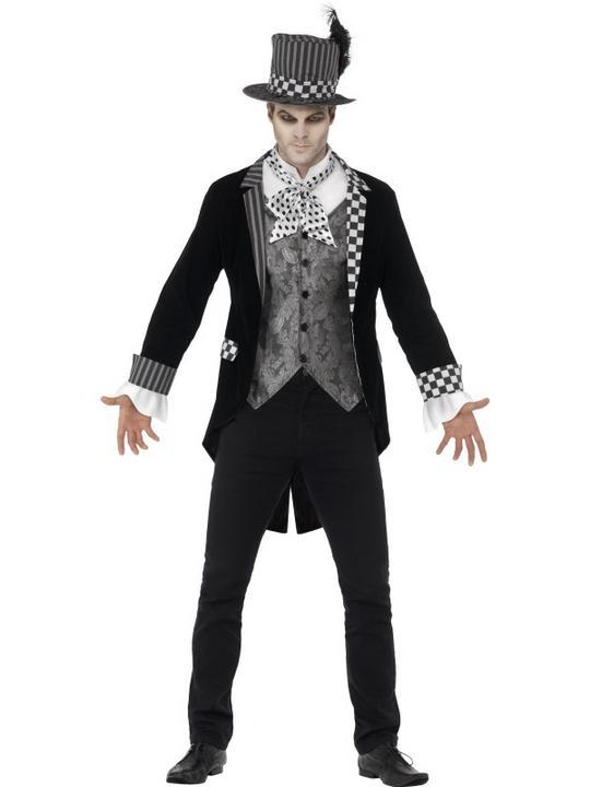 Men's Deluxe Dark Hatter Costume Thumbnail 1