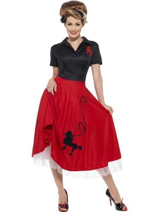 1950's Petticoat Women's Fancy Dress Thumbnail 2