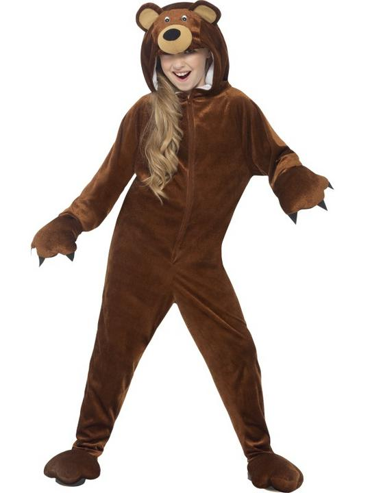 Kid's Bear Fancy Dress Costume Thumbnail 1