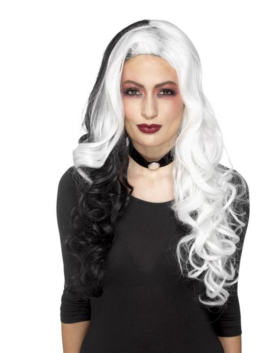Deluxe Evil Madame Wig Thumbnail 1