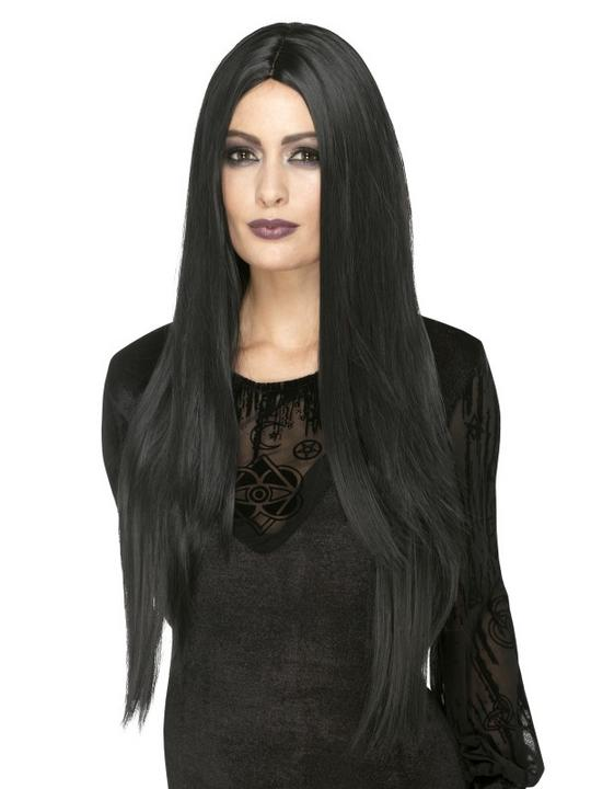 Deluxe Witch Wig, Heat Resistant/Styleable Thumbnail 1