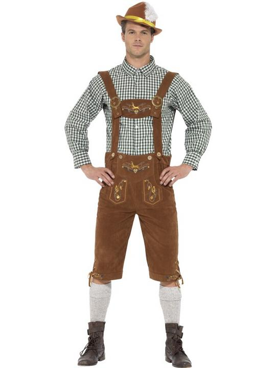 Traditional Deluxe Hanz Bavarian Costume Thumbnail 1