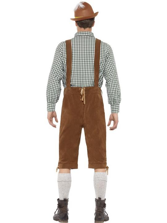 Traditional Deluxe Hanz Bavarian Costume Thumbnail 3