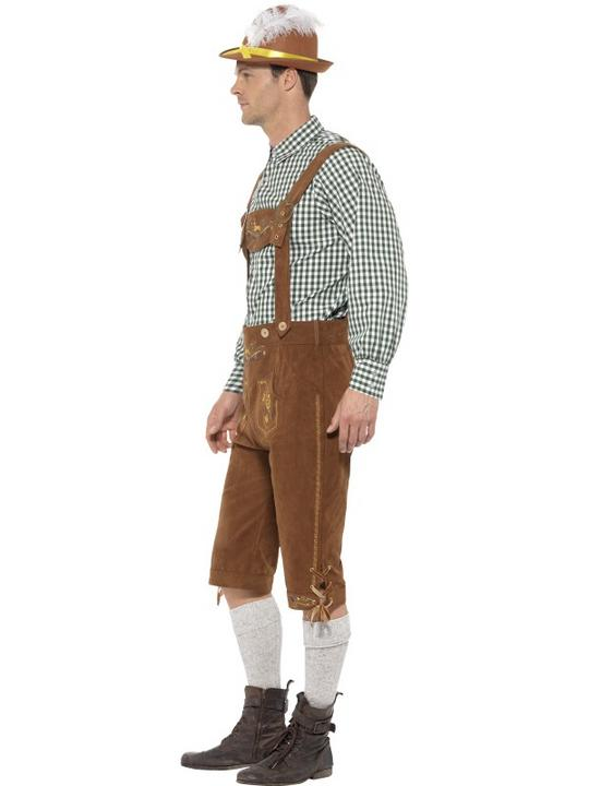 Traditional Deluxe Hanz Bavarian Costume Thumbnail 2