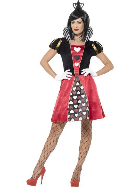 Carded Queen Fancy Dress Costume Thumbnail 1