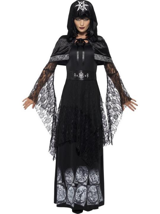 Women's Black Magic Mistress Costume Thumbnail 1
