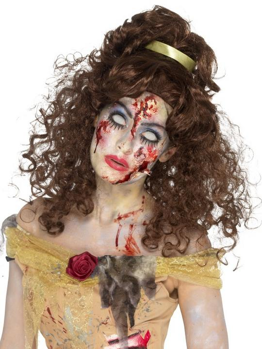 Zombie Golden Princess Wig Thumbnail 1